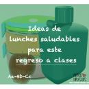 Ideas de lunches saludables para el regreso a clases
