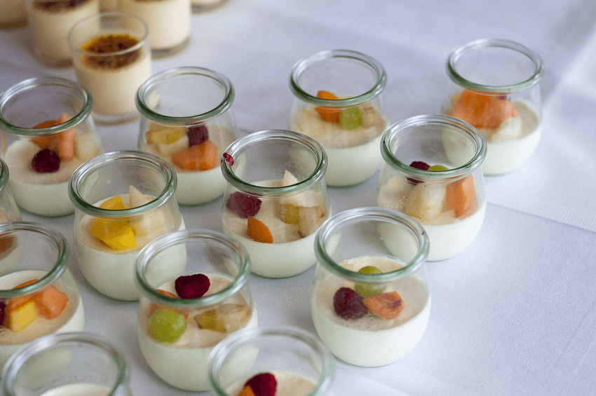 Yogurt con fruta