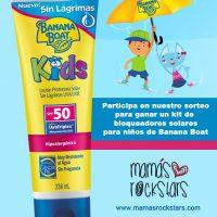 """Protector solar """"Banana Boat Kids"""" Sin lágrimas"""