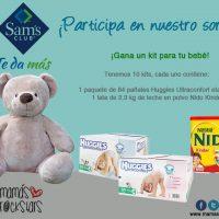 Productos para tu bebé de Sam's Club