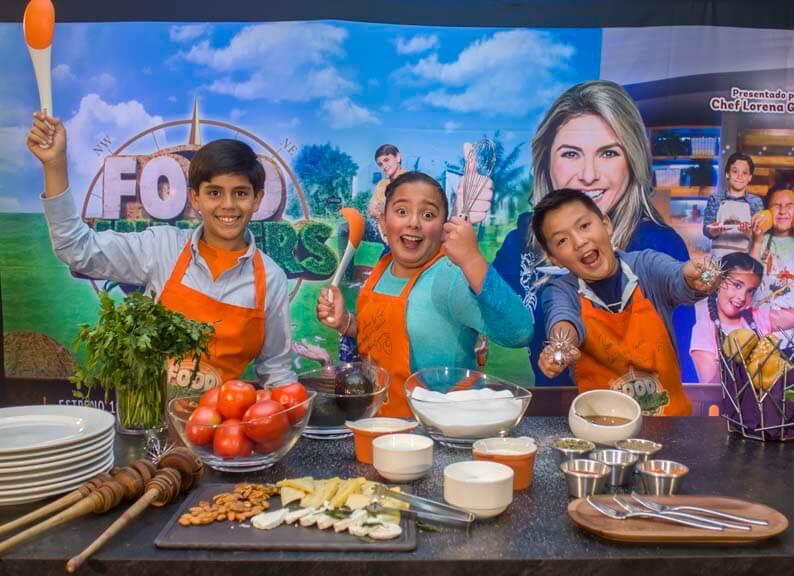 niños mexicanos en Food Hunters