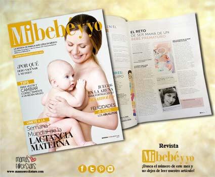 Revista Mi Bebé y Yo. Agosto 2016