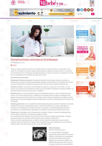 Complicaciones comunes en el embarazo