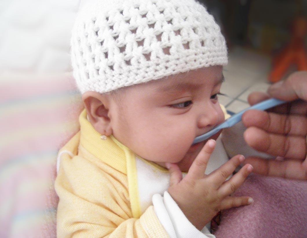 Tu bebé comienza a descubrir sabores y texturas