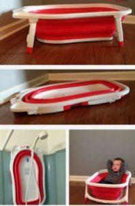 Inventos originales para la hora del baño del beb