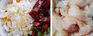 Ingredientes Pollo Kung Pao